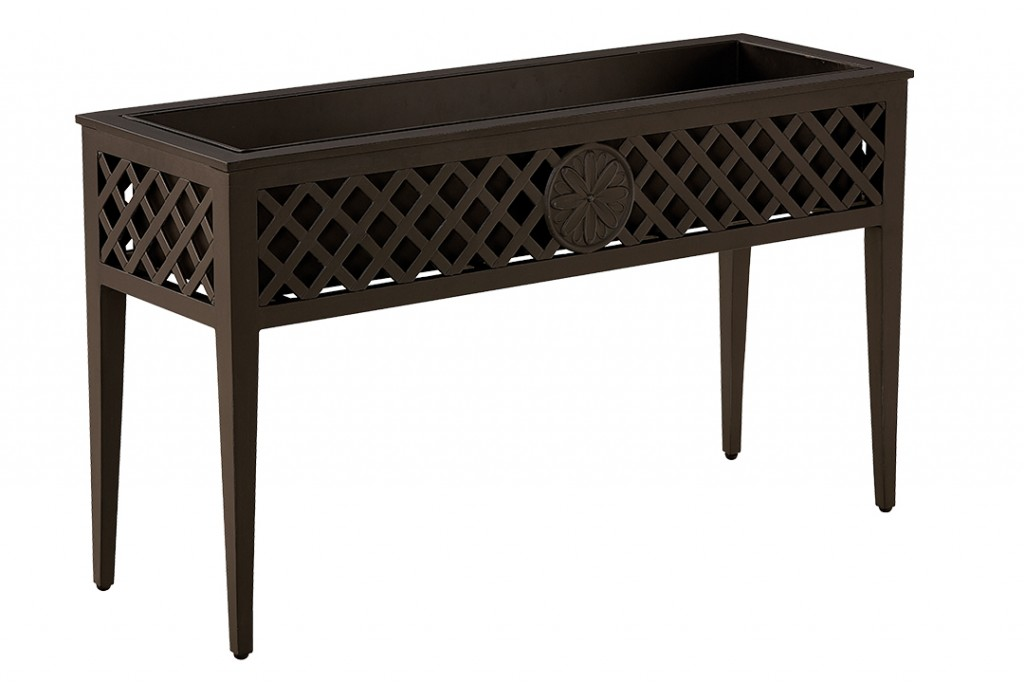 Brown Planter Stand