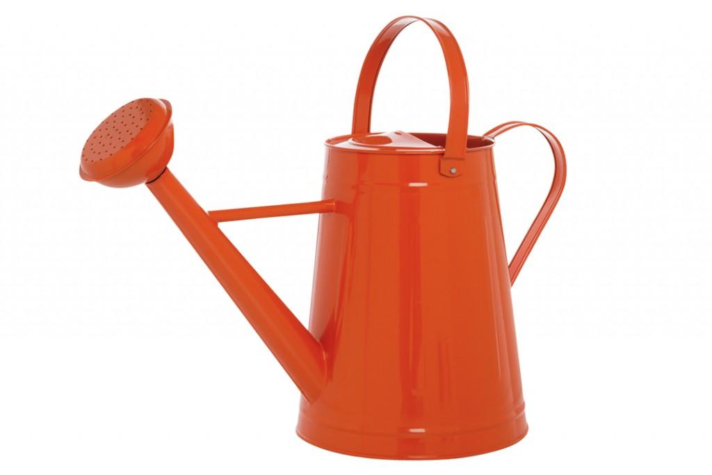 Orange Watering Can