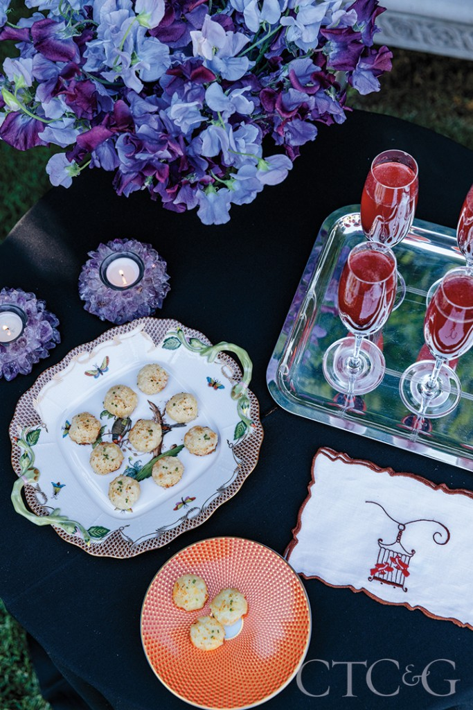 Table Setting With Appetizers
