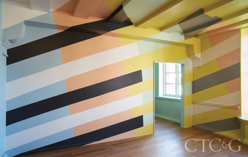Painted Stripes On Bedroom Walls