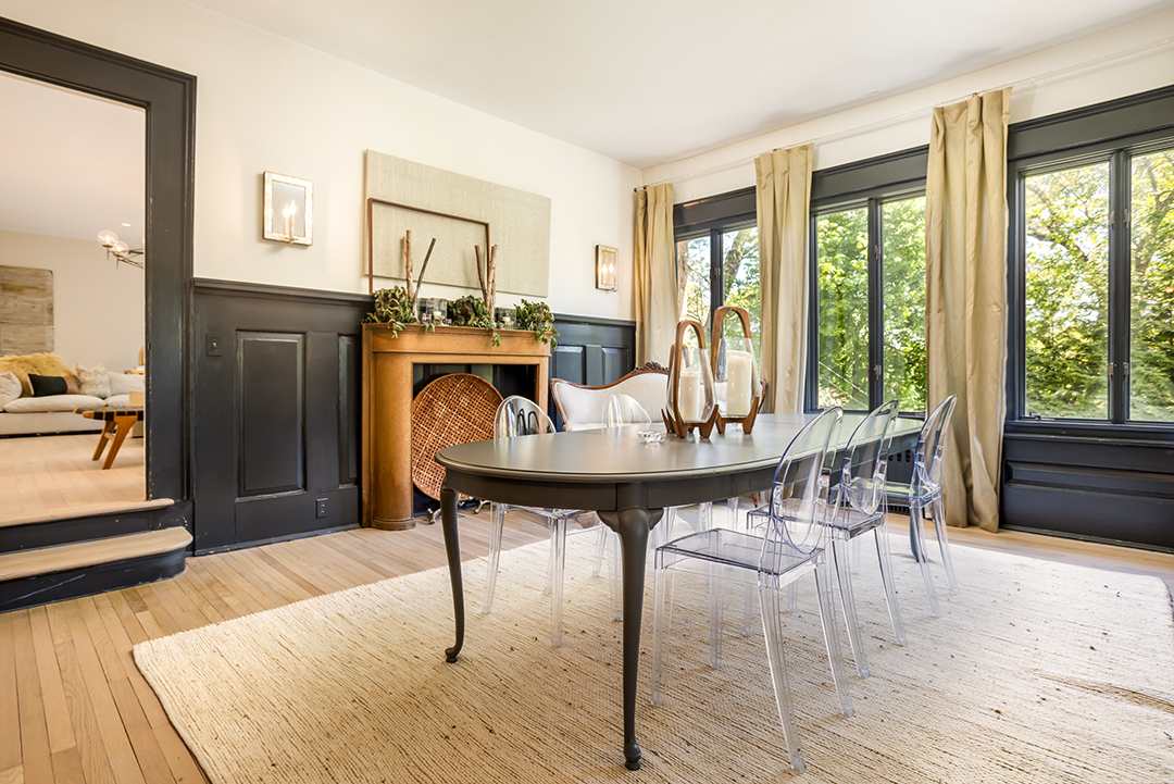 Darien Home Gets A Modern Yet Rustic Refresh From Jody Deluca Designs Dining