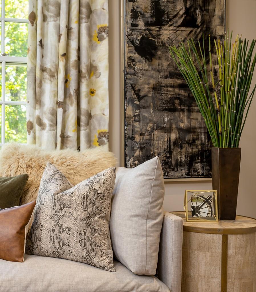 Darien Home Gets A Modern Yet Rustic Refresh From Jody Deluca Designs Pillows B