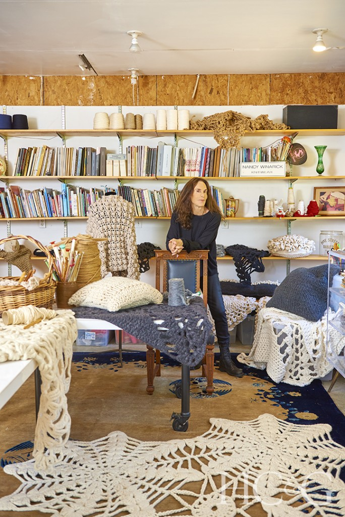 Nancy Winarick In Shelter Island Studio