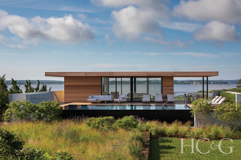 Modern Indoor Outdoor Pool House
