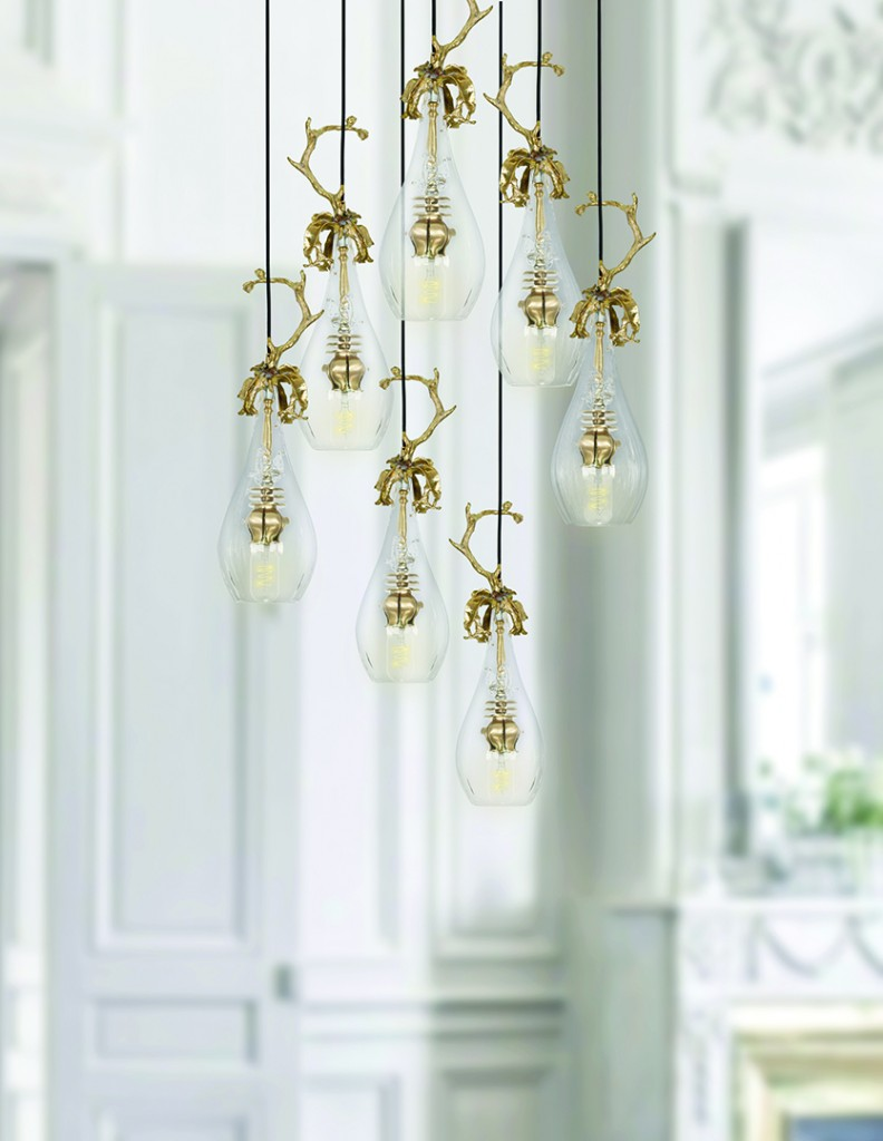 Dangling Light Bulb Fixture