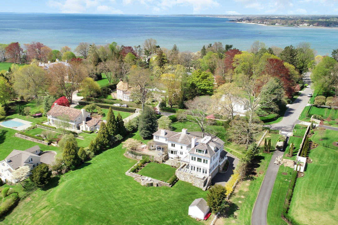 Top Agent Cindy Raney Talks Connecticut Real Estate And Shares Advice Sasco Aerial
