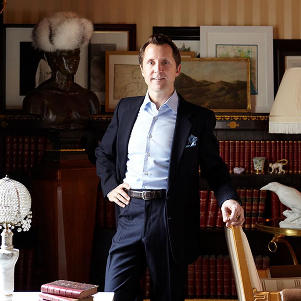 Meet Darren Henault The Interior Designer Who Founded Tent Headshot