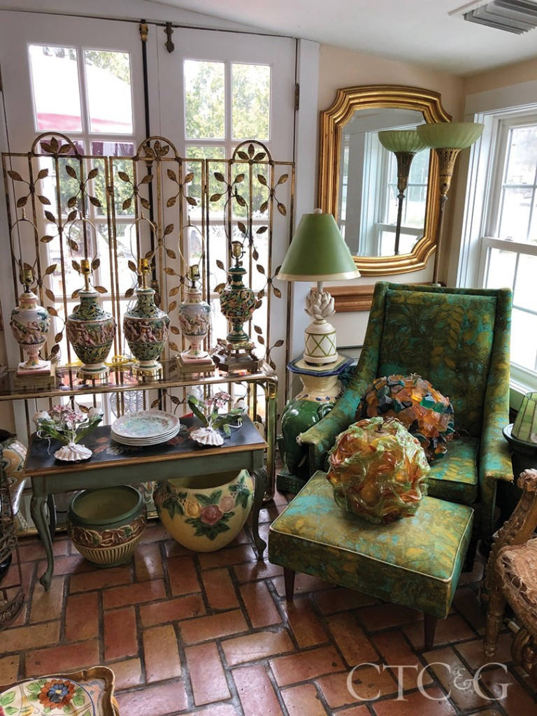 Green Antique Decor And Furniture