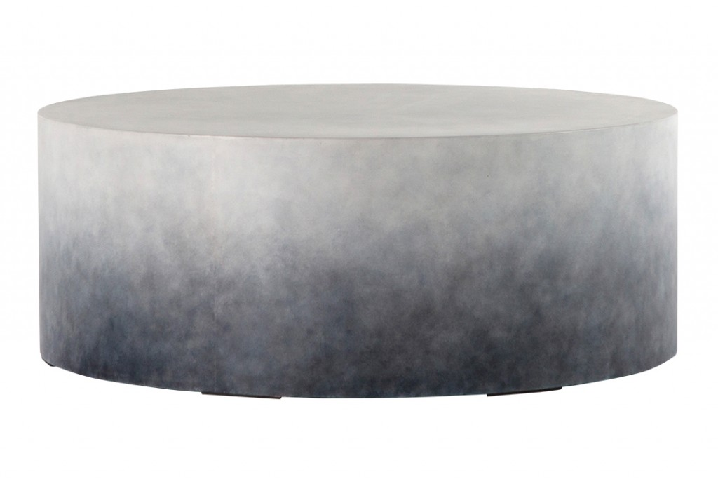 Concrete Outdoor Cocktail Table