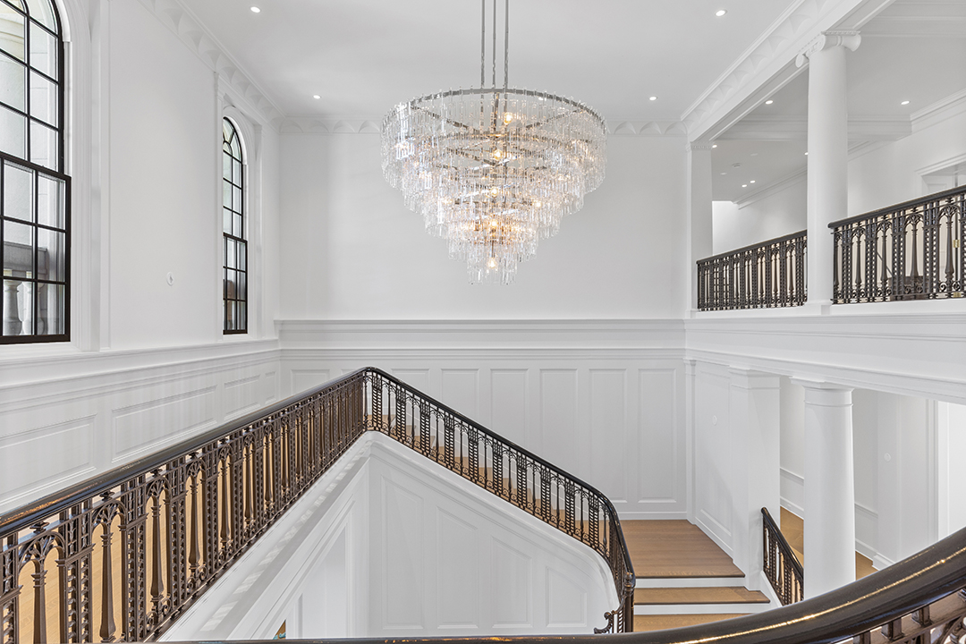 The Rock Edge Estate Staircase