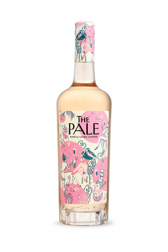 The Pale Bottle Of Rose