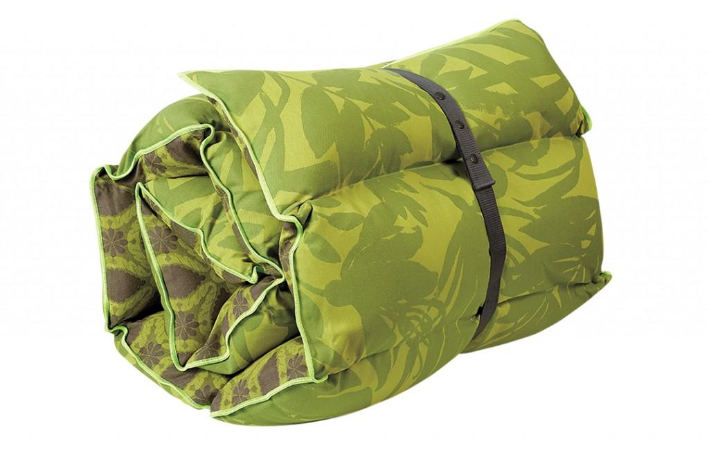 Le Jacquard Francais Bahia Green Sun Lounger Cushion