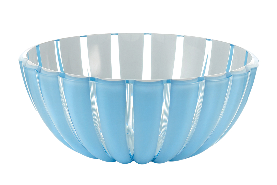 Blue Acrylic Serving Bowl