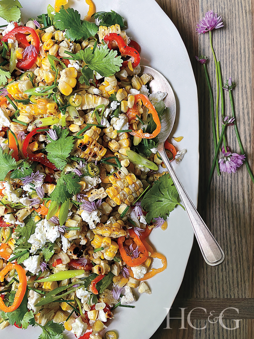 Susan Spungen Mexican Style Corn Salad Recipe
