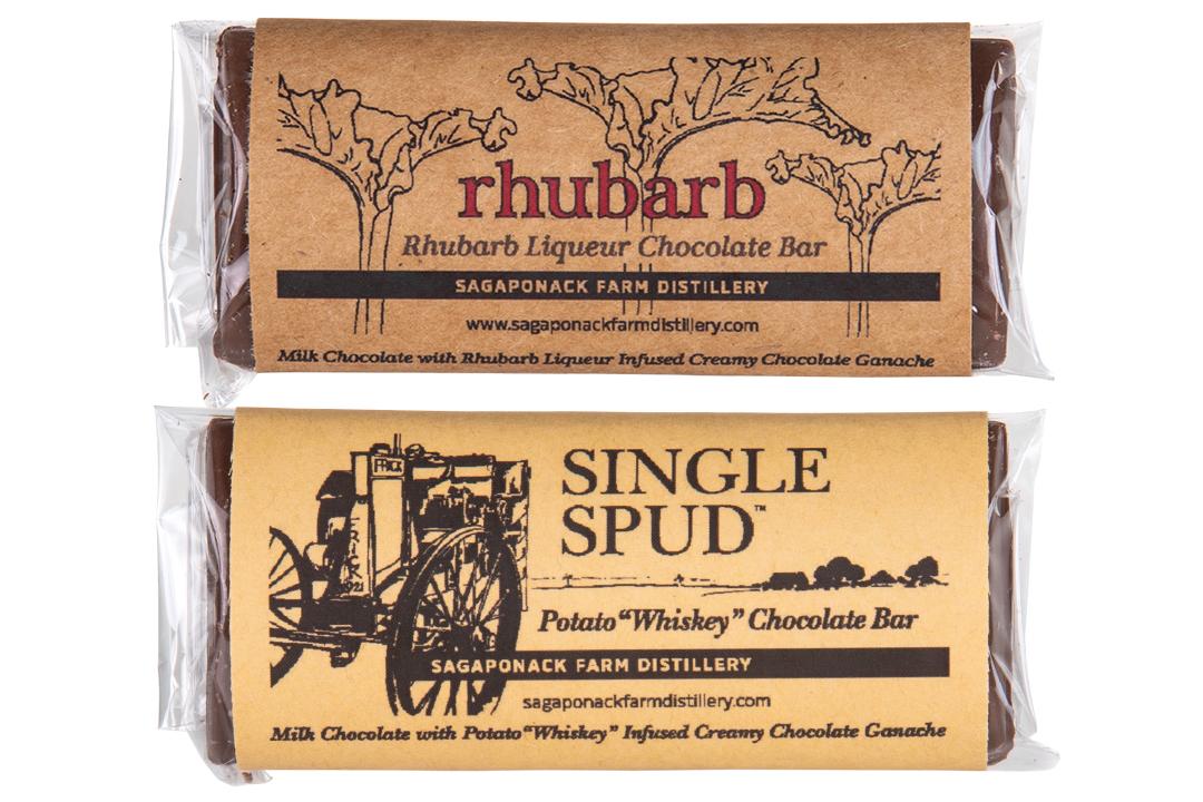 Whiskey Chocolate Bars