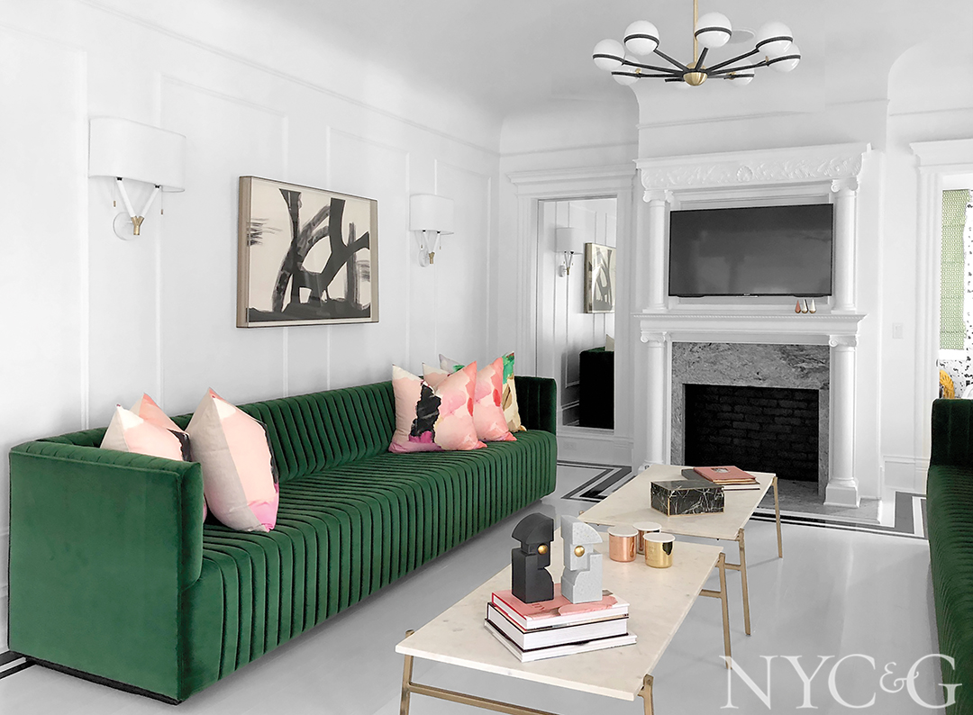 Meet Cara Woodhouse Rising Star Interior Design Couch