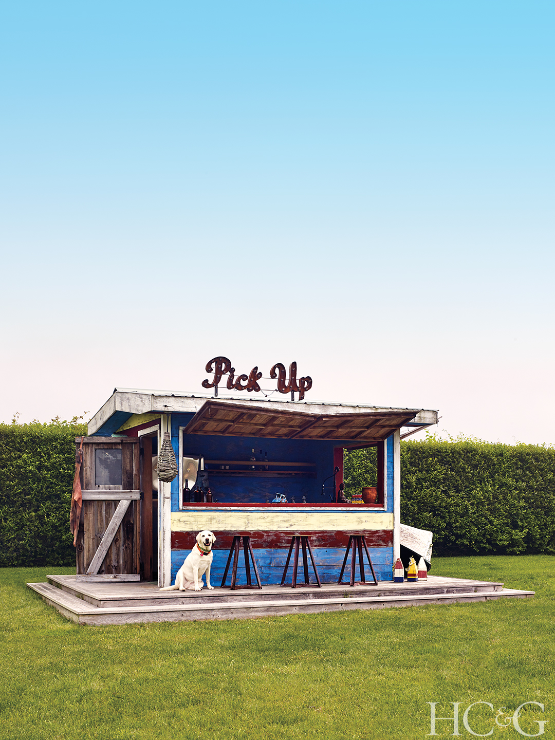 outdoor bar shed