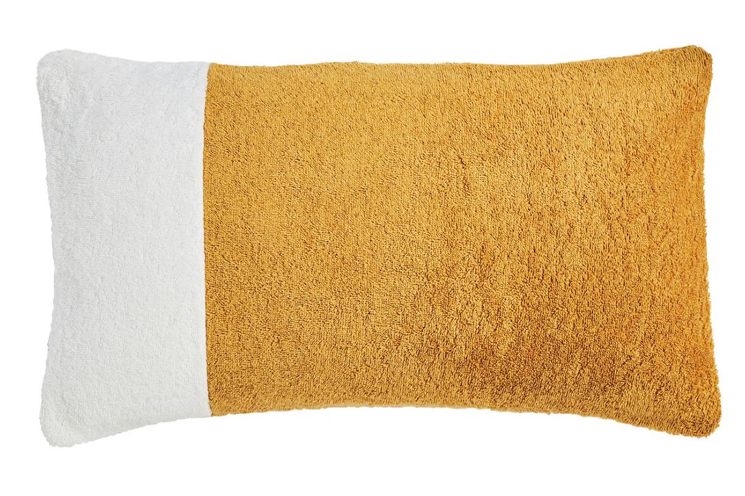 Frettes Plush Terrycloth Beach Pillow