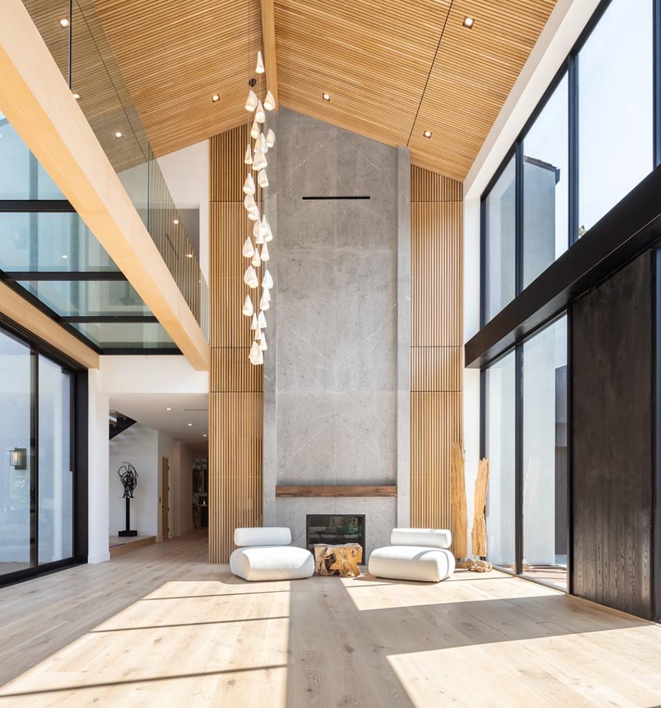 Encino Masterpiece Born Of Celebrity Designer Jae Omars Vision Unveiled For 26m Living Room