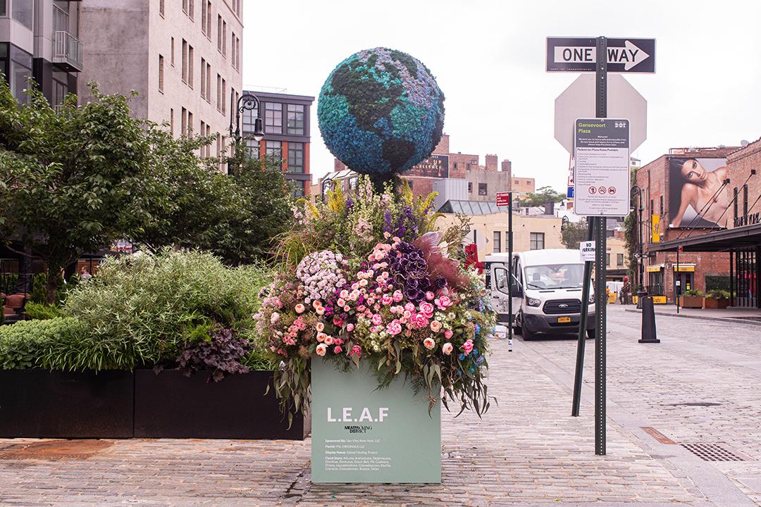 Leaf Festival Of Flowers For Van Vliet New York