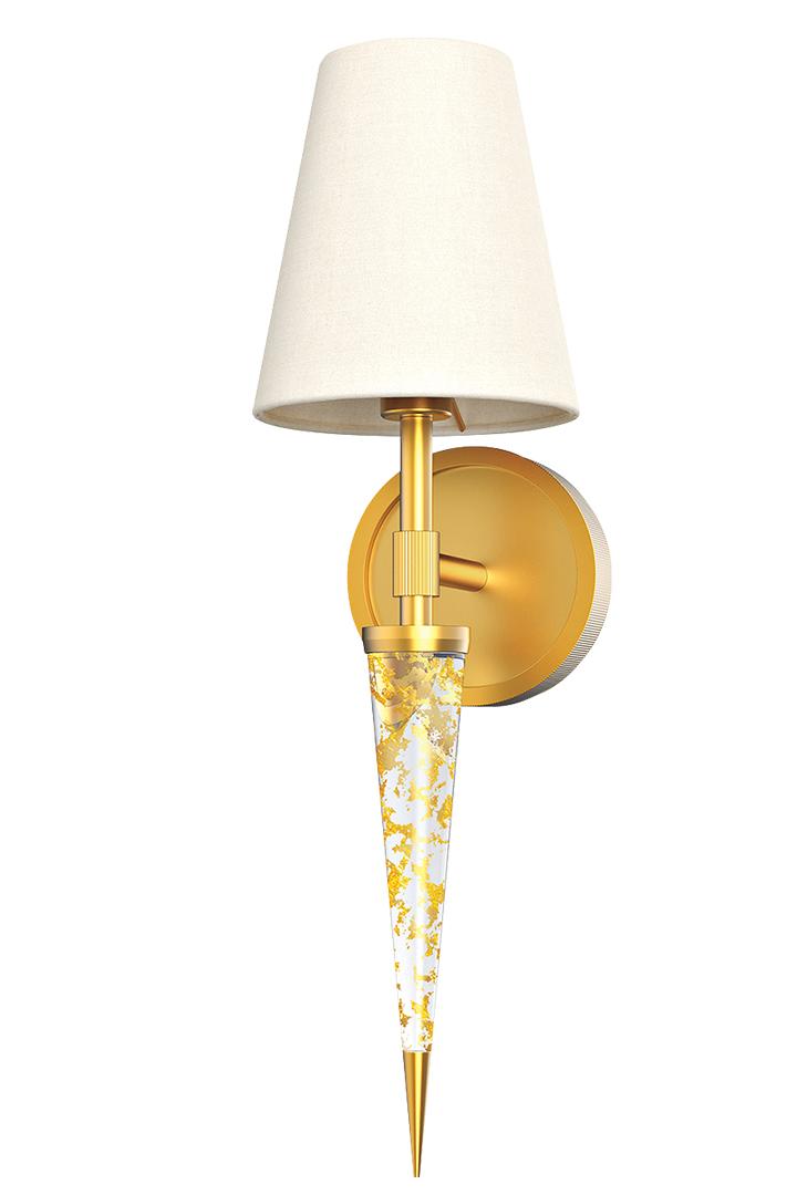 gold lighting wall pendant