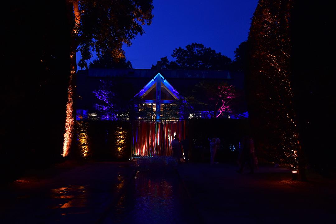 Longhouse Reserve Summer Benefit Night Scene