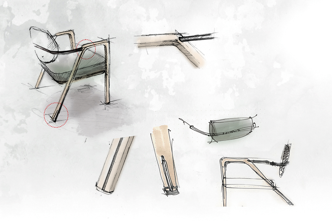 Explore The Inspired Innovative Giorgetti 2021 Collection Giorgetti Sketch M2atelier Elsa 1080
