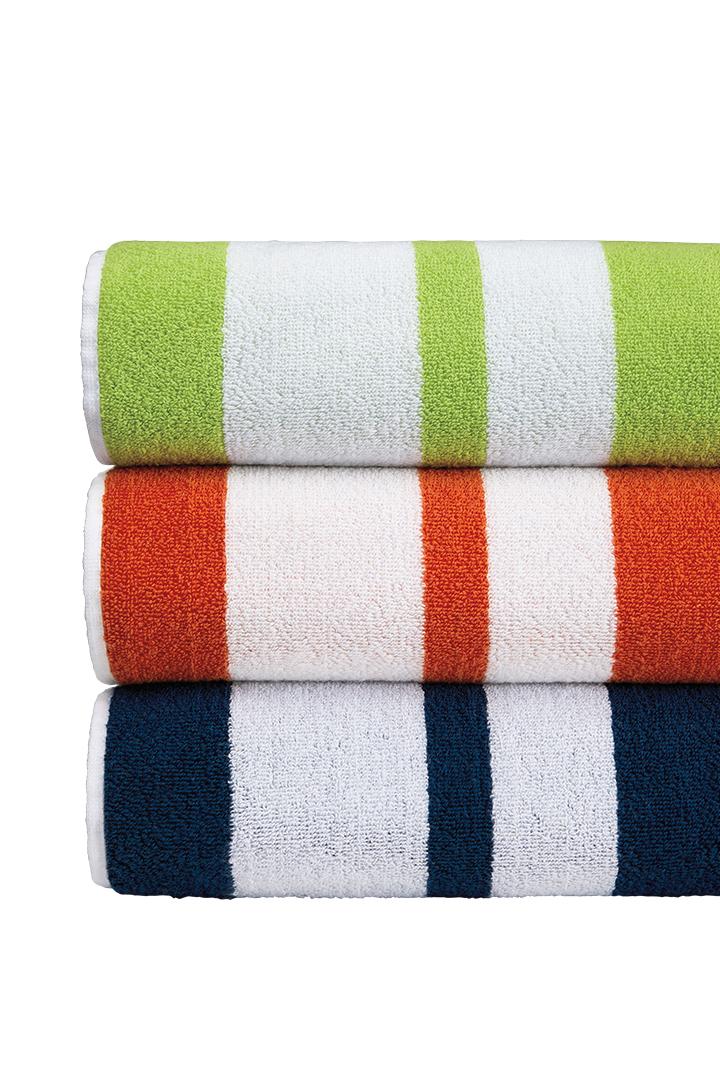 Sferras Cabana Striped Mareta Towels