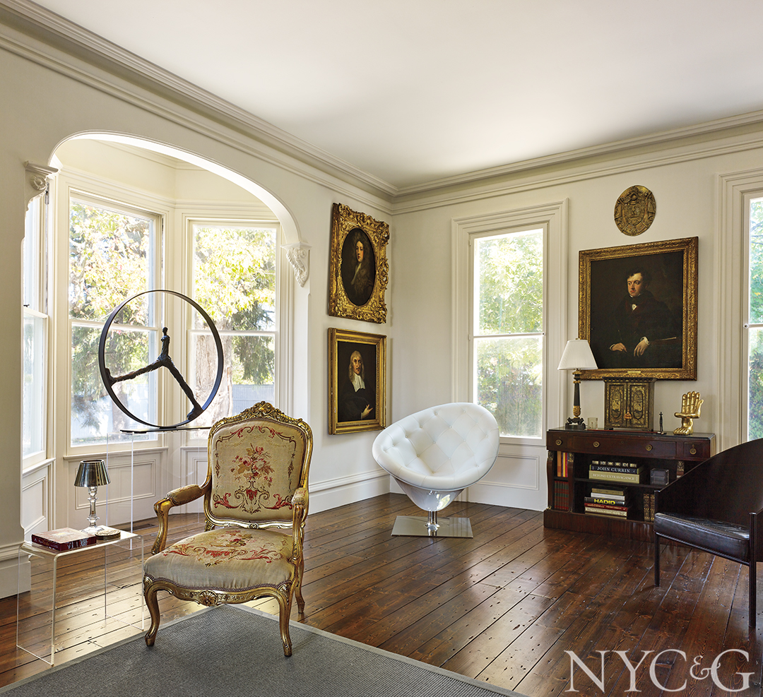 Nyc Couples Claverack Country Home Living Room