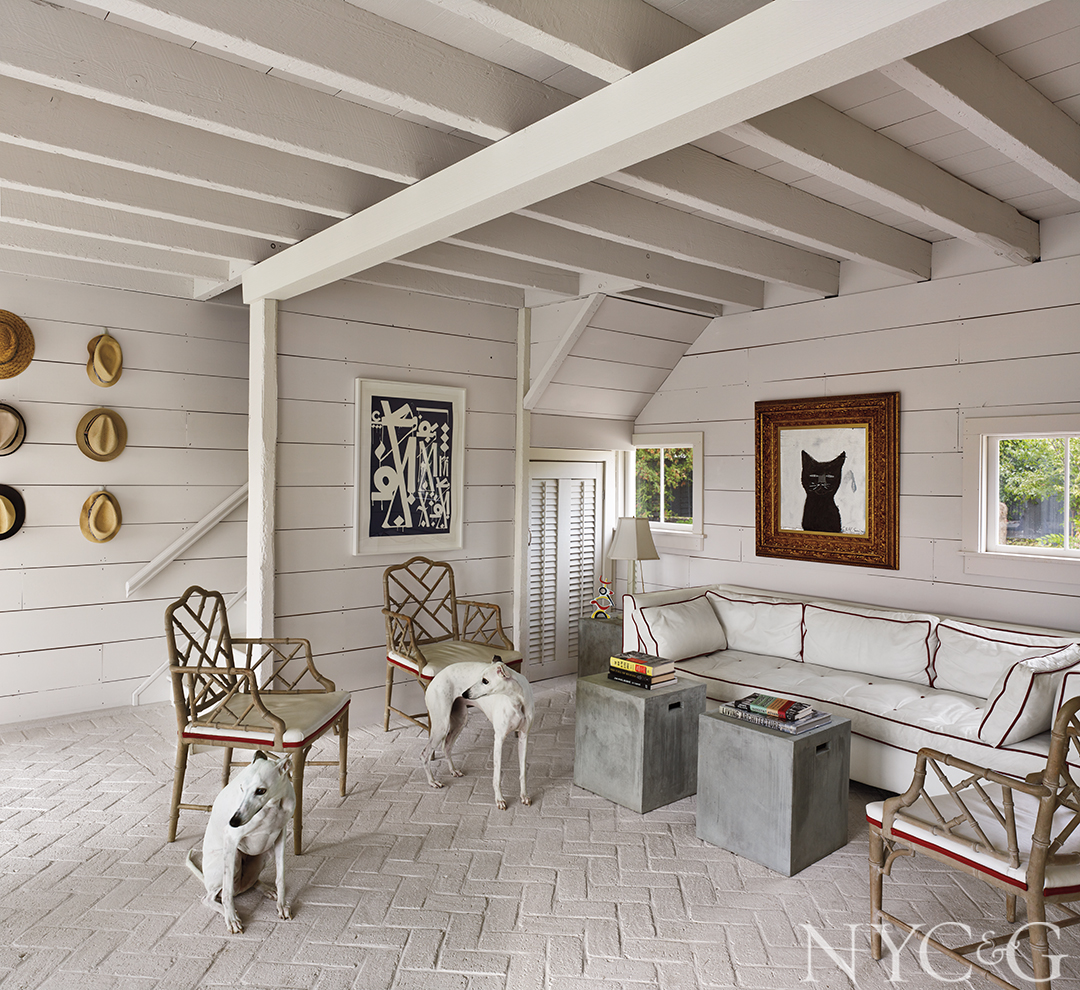 Nyc Couples Claverack Country Home Covered Porch