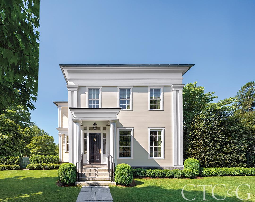 Classic Greek Revival Exterior