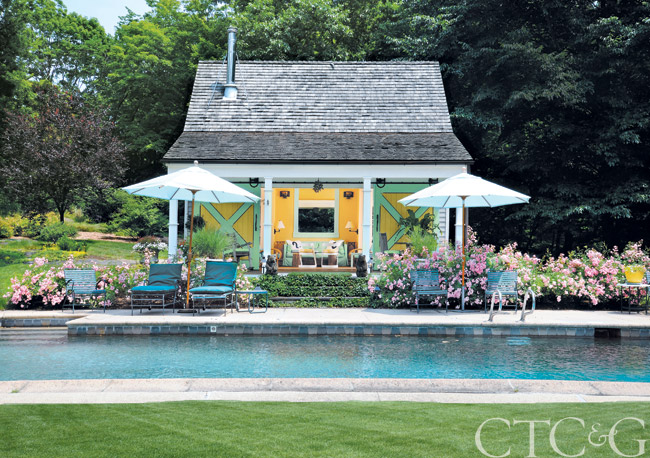 Landscape Designer Pat Miller Tames Her Greenwich Property With A