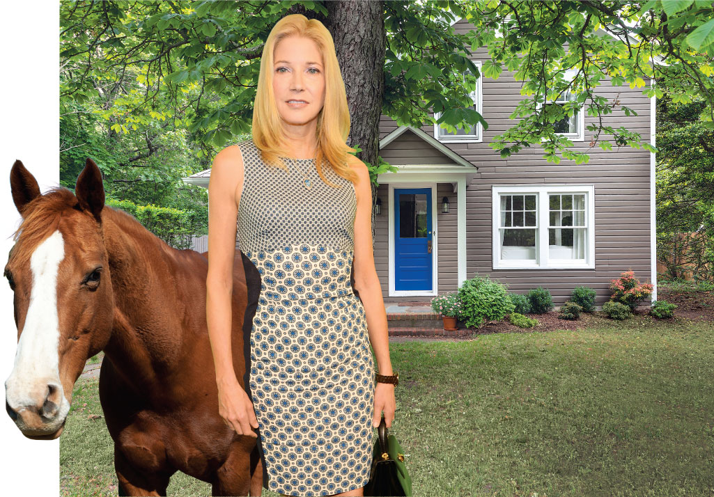 Sex and the City writer Candace Bushnell has traded her West Village apartment for a Sag Harbor farmhouse.