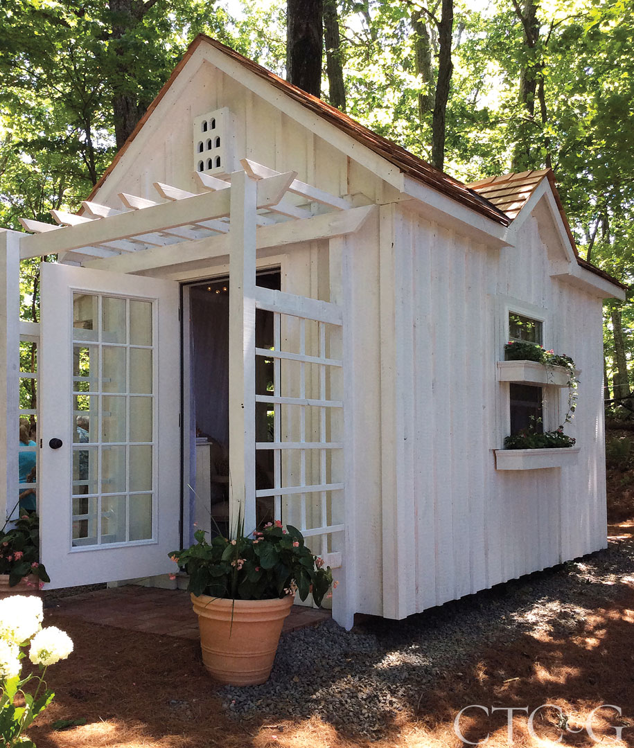 PPG Architectural Coatings provided the paint for the cottage.