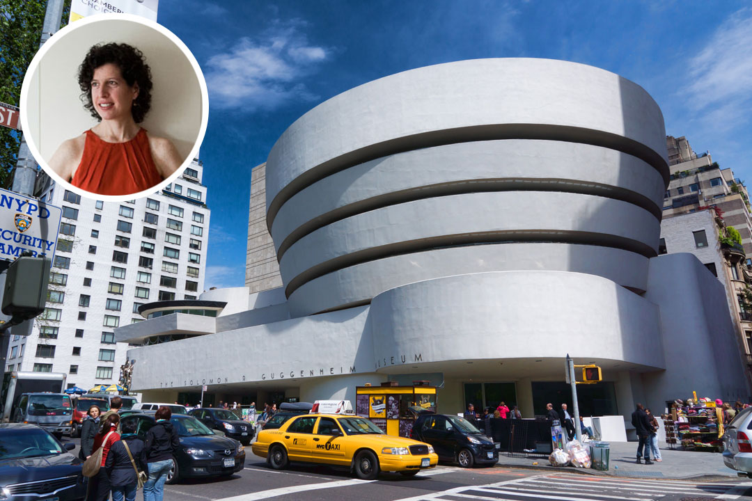 Eve Robinson's favorite building is the Guggenheim Museum.