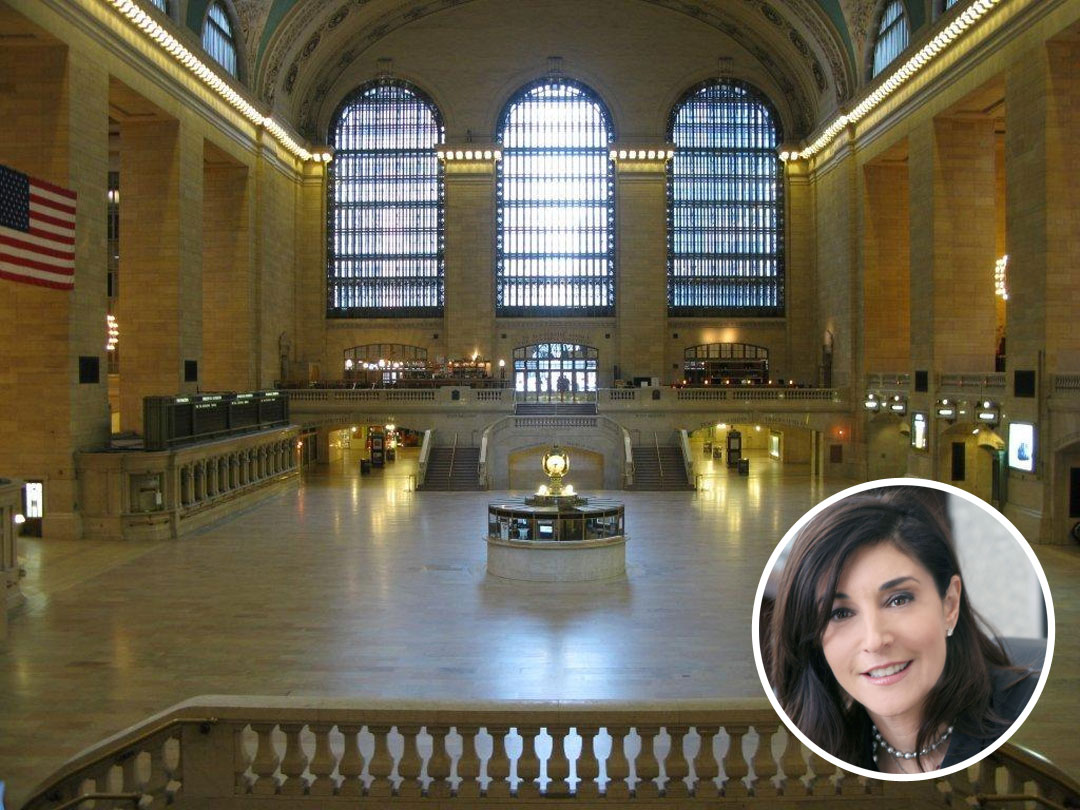 Grand Central Terminal is interior designer Rachel Laxer's favorite building in the world.