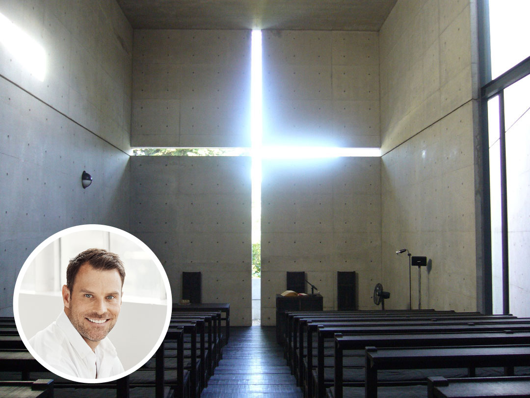 Shawn Henderson's favorite building in the world is Tadao Ando's Church of the Light.