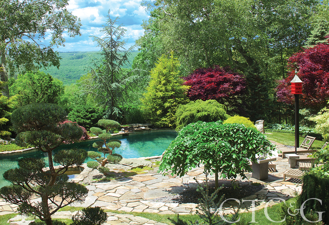 Stunning Japanese Garden in Litchfield County