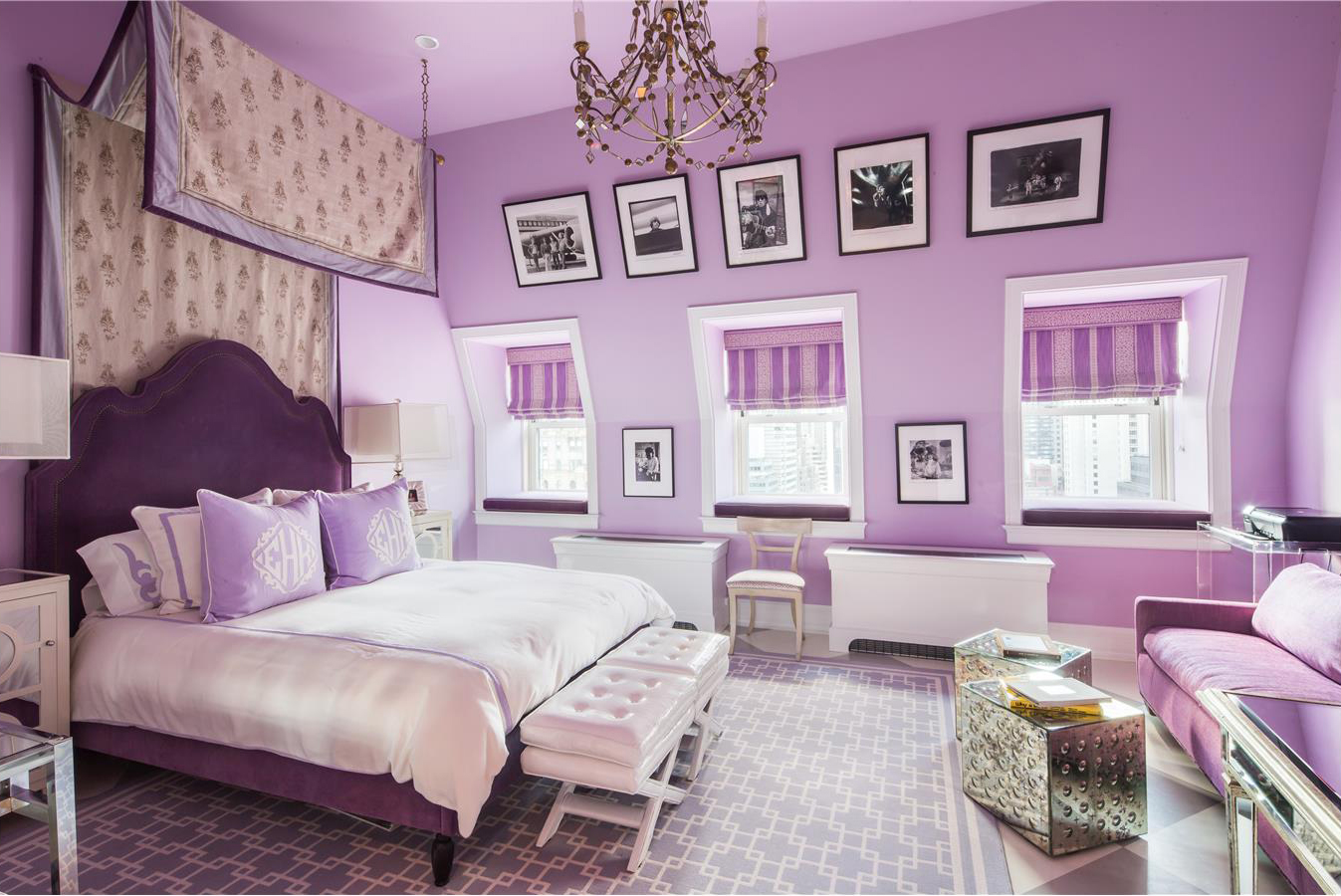 An elegant girl's bedroom.