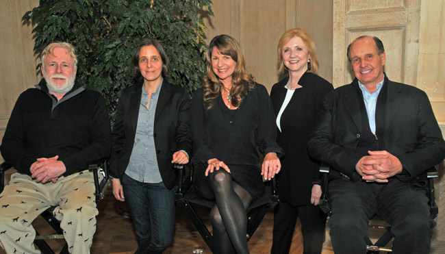 Our illutrious panel included Long Island preeminent design-builder Jeffrey Collé, author Steven Gaines, HC&G contributing editor Heather Buchanan and NYC&G features editor Carmela Ciuraru and CEO Marianne Howatson