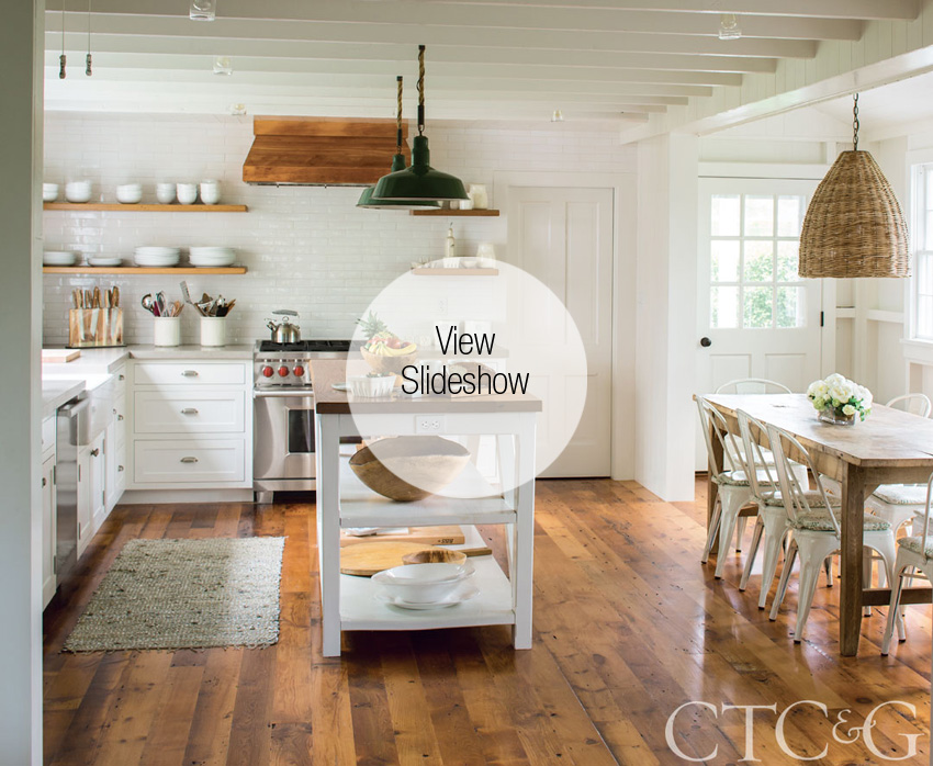 Inside A Connecticut Cottage With A Touch Of California Cool