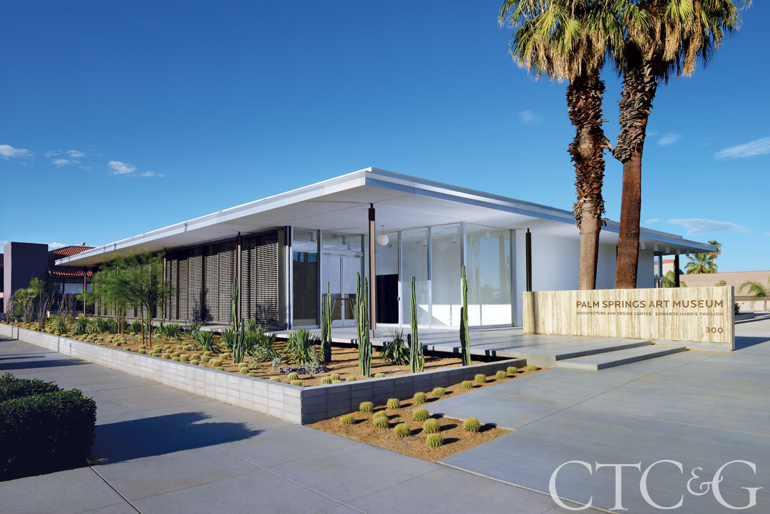 The Palm Springs Art Museum's Architecture + Design Center.