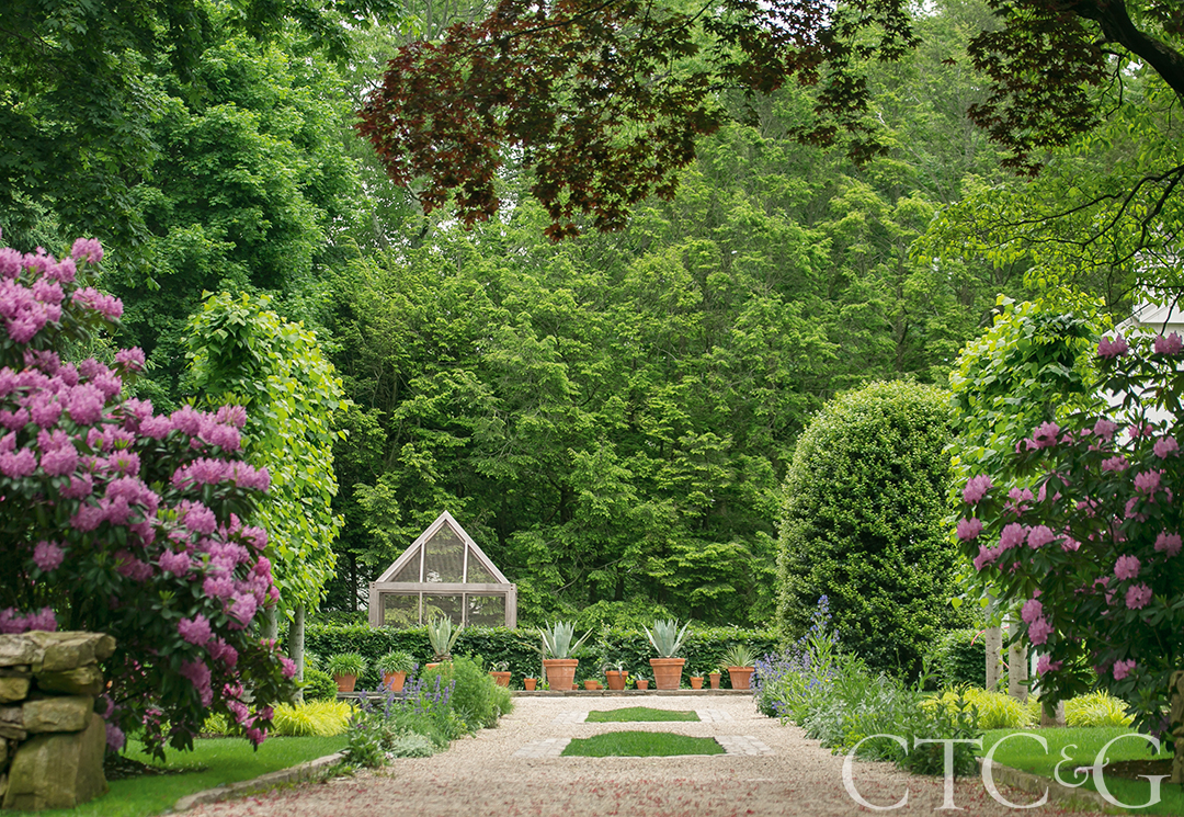 James Doyle's Own West Hill Garden Emanates Tranquility and Happiness