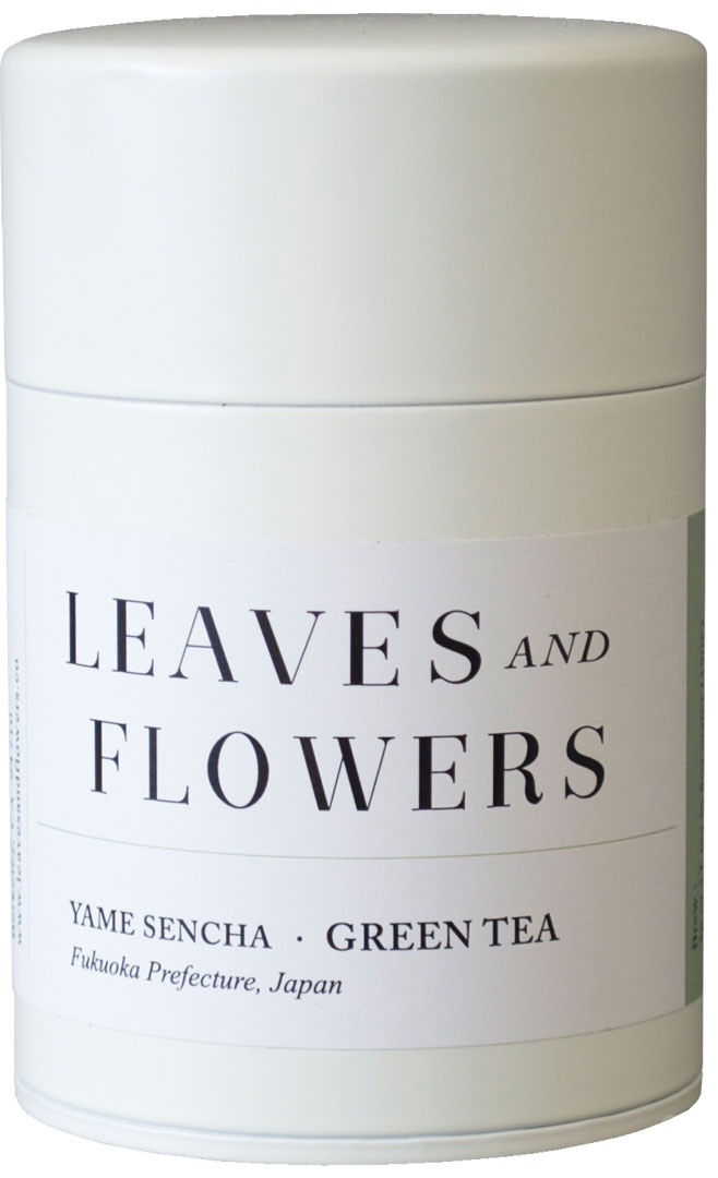 Leaves & Flowers's refined tea canister.