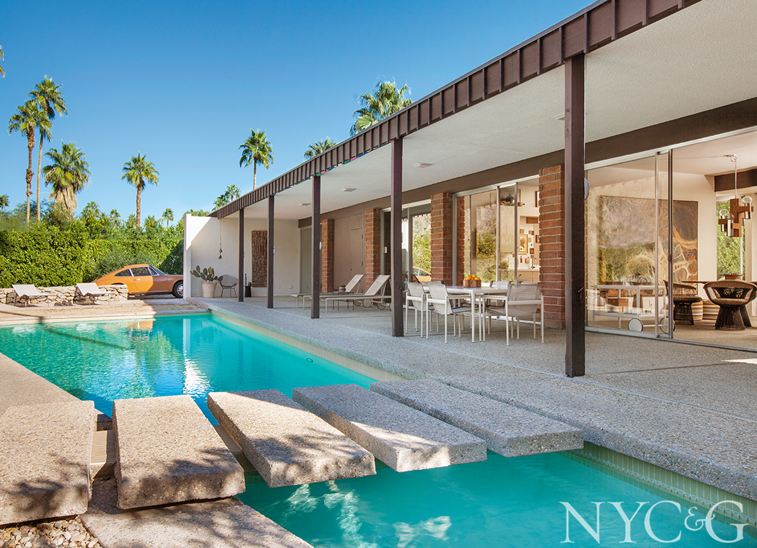 An Architect and an Art Director Find the House of Their Dreams in Sunny Palm Springs