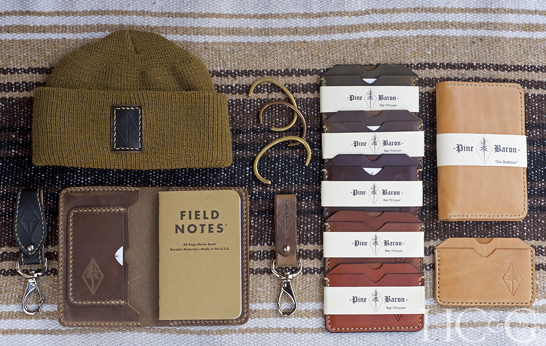 Pine Baron's Leather Goods Embrace the East End's Rugged Beauty - Cottages  & Gardens