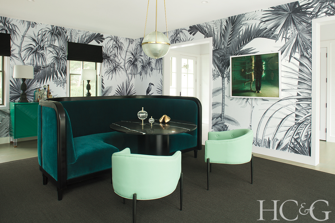 Designer Ghislaine Vinas Mixes Bold Statements With Tropical Undertones In An East Hampton Abode Cottages Gardens