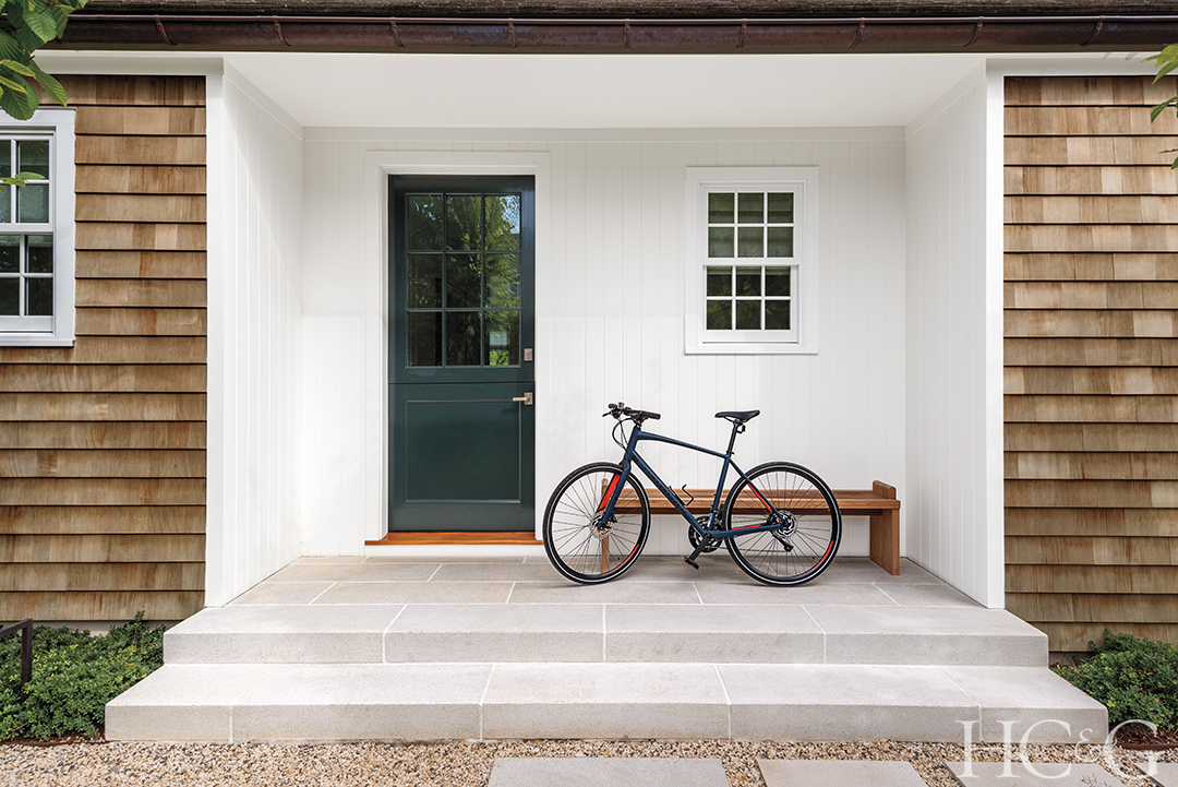 East Hampton Modern Makeover Exterior