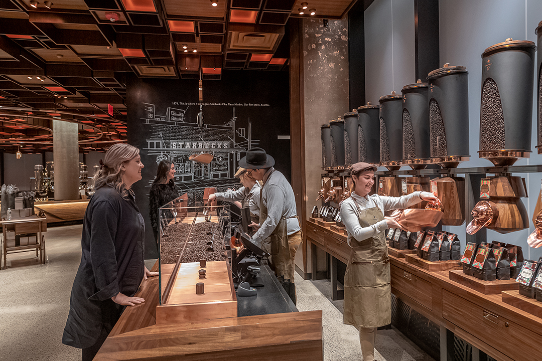 Starbucks Roastery NYC