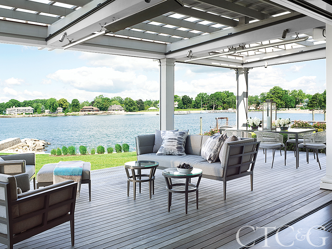 Waterfront Home Patio